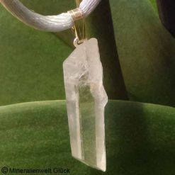 Bergkristall, Anhänger, Edelsteine
