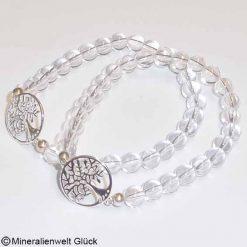 Bergkristall Armband, Armbänder, Edelsteine, Heilsteine