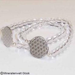 Bergkristall Edelstein, Armbänder, Edelsteine, Heilsteine