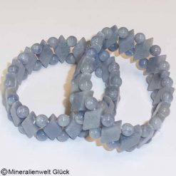 Blauquarz Edelstein, Armbänder, Edelsteine, Heilsteine