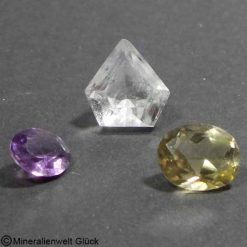Bergkristall-Citrin-Amethyst, Schmuck, Edelsteine, Heilsteine