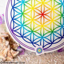 Blume des Lebens Klebefolien, Edelsteine, Heilsteine
