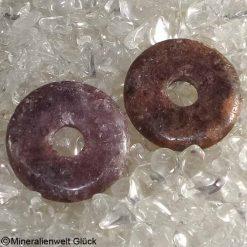 Turmalin Donut, Scheiben, Edelsteine, Heilsteine