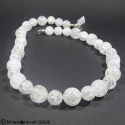Edelstein Kette Bergkristall, Edelsteine kaufen, Heilsteine,