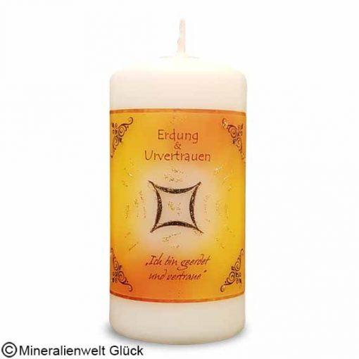 ENGELALM Kerze Erdung, Kerzen, Edelsteine, Heilsteine