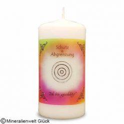 ENGELALM Kerze Schutz, Kerzen, Edelsteine, Heilsteine