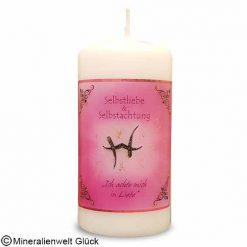 ENGELALM Kerze Selbstliebe, Kerzen, Edelsteine, Heilsteine