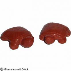 Schildkröte Jaspis, Edelsteinfigur, Edelsteine, Heilsteine