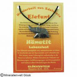 Edelstein Anhänger Elefant, Edelsteine, Sternzeichen