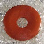 Jaspis Donut Scheiben, Donuts, Mineralien, Edelsteine, Heilsteine