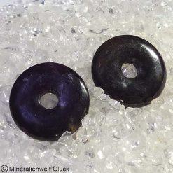 Sugilith Donut Scheiben, Edelsteinscheiben, Mineralien, Edelsteine, Heilsteine