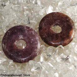Turmalin Donut, Edelsteinscheiben, Mineralien, Edelsteine, Heilsteine