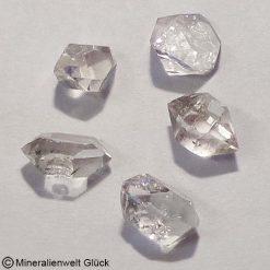 Herkimer Diamant, Trommelsteine, Edelsteine, Heilsteine