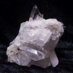 Bergkristall Stufe (63), Edelsteine, Mineralien