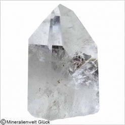 Bergkristall Spitze poliert 53 x 76 mm, Rohkristalle, Edelsteine, Heilsteine