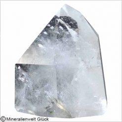 Bergkristall Spitze poliert 68 x 71 mm, Rohkristalle, Edelsteine, Heilsteine
