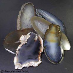 Achatscheiben natur oval, Kristalle, Edelsteine, Heilsteine