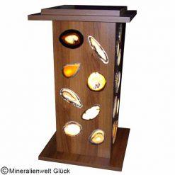 Achatscheiben Lampe, Kristalle, Edelsteine, Heilsteine