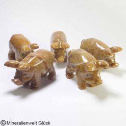 Glücksschwein, Edelsteintiere, Edelsteine, Heilsteine