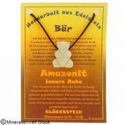 Amazonit Bär, Sternzeichen, Edelsteine, Heilsteine