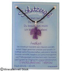 Amethyst Schutzengel, Sternzeichen, Edelsteine, Heilsteine