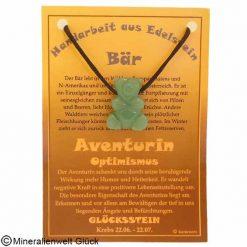 Aventurin Bär, Sternzeichen, Edelsteine, Heilsteine
