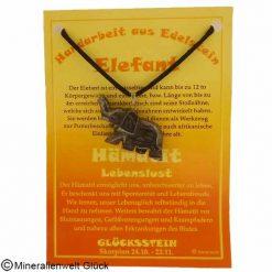 Hämatit Elefant, Sternzeichen, Edelsteine, Heilsteine