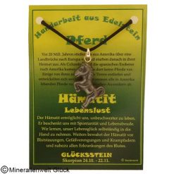 Hämatit Pferd, Sternzeichen, Edelsteine, Heilsteine