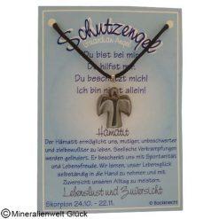 Hämatit Schutzengel, Sternzeichen, Edelsteine, Heilsteine