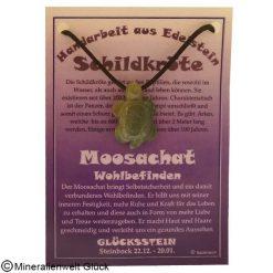 Moosachat Schildkröte, Sternzeichen, Edelsteine, Heilsteine