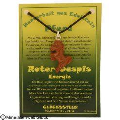 Roter Jaspis Pferd, Sternzeichen, Edelsteine, Heilsteine