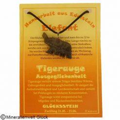 Tigerauge Elefant, Sternzeichen, Edelsteine, Heilsteine