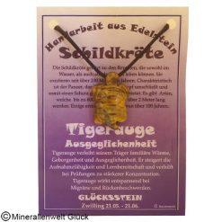 Tigerauge Schildkröte, Sternzeichen, Edelsteine, Heilsteine