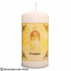 ENGELALM Kerze Frieden, Kerzen, Mineralien, Edelsteine, Heilsteine