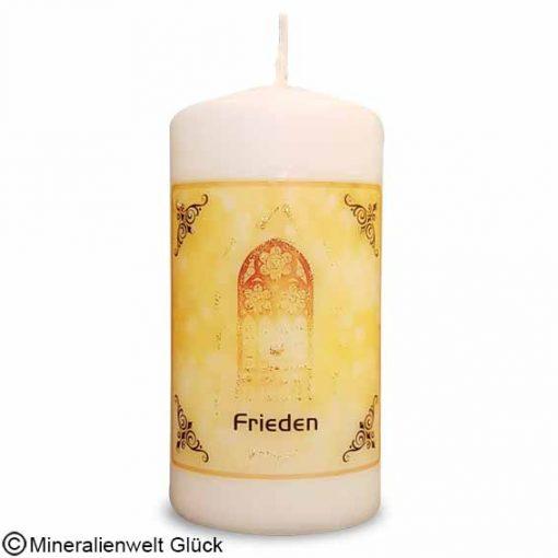 ENGELALM Energiekerze Frieden, Kerzen, Mineralien, Edelsteine, Heilsteine