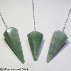 Aventurin Pendel, Edelsteine, Mineralien
