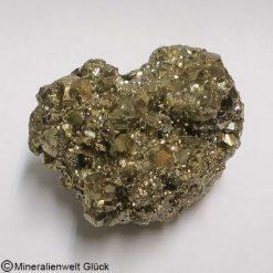 Pyrit Edelstein, Rohstein, Edelsteine, Mineralien, Kristalle