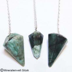 Smaragd Pendel, Edelsteine, Mineralien