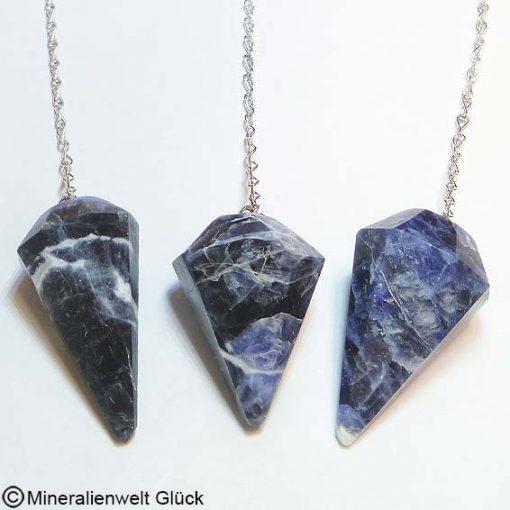 Sodalith Pendel, Mineralien, Edelsteine
