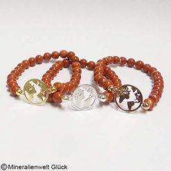 Mutter Erde Jaspis rot, Edelsteine, Mineralien