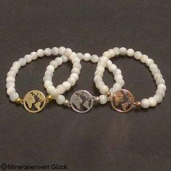 Mutter Erde Perlmutt, Armbänder, Edelsteine, Mineralien