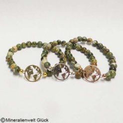Mutter Erde Rhyolith, Armbänder, Edelsteine, Mineralien