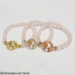 Mutter Erde Rosenquarz, Armbänder, Edelsteine, Mineralien