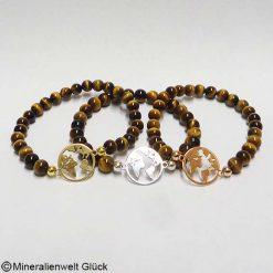 Mutter Erde Tigerauge, Armbänder, Edelsteine, Mineralien