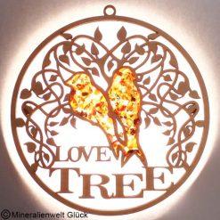 Bernstein Love Tree, Edelsteine, Mineralien