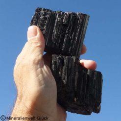 Turmalin Schörl Schutzsteine, Mineralien, Edelsteine