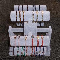 Armband Karusell, Edelsteine, Mineralien