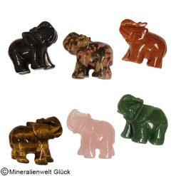 Glück`s Elefanten, Edelsteine, Mineralien