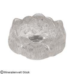 Bergkristall Teelichthalter, Edelsteine, Mineralien