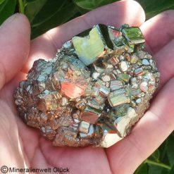 Pyrit Edelstein (19), Mineralien, Heilsteine, Edelsteine